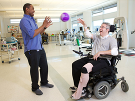 Your rehabilitation experience - patient and physical therapist